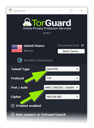How to use TorGuard's Stealth VPN Service |
