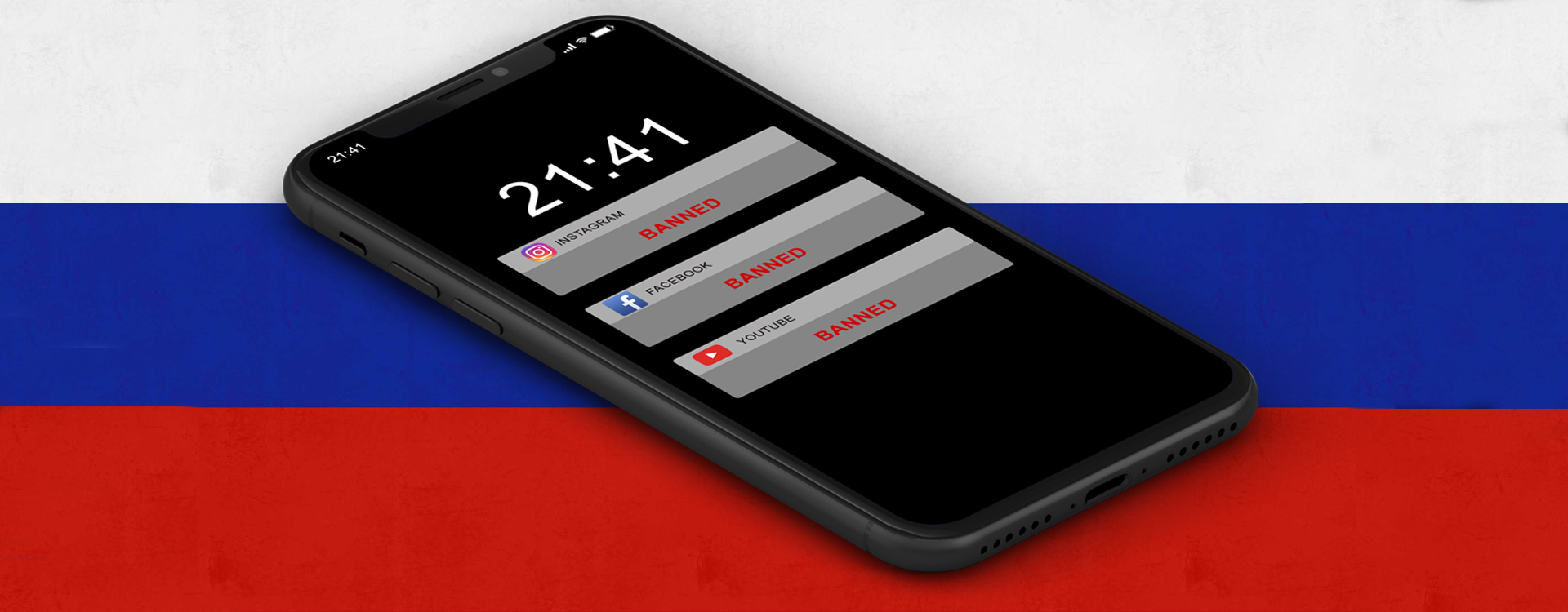 Russia is Preparing a Complete Block of Facebook, Instagram, and YouTube
