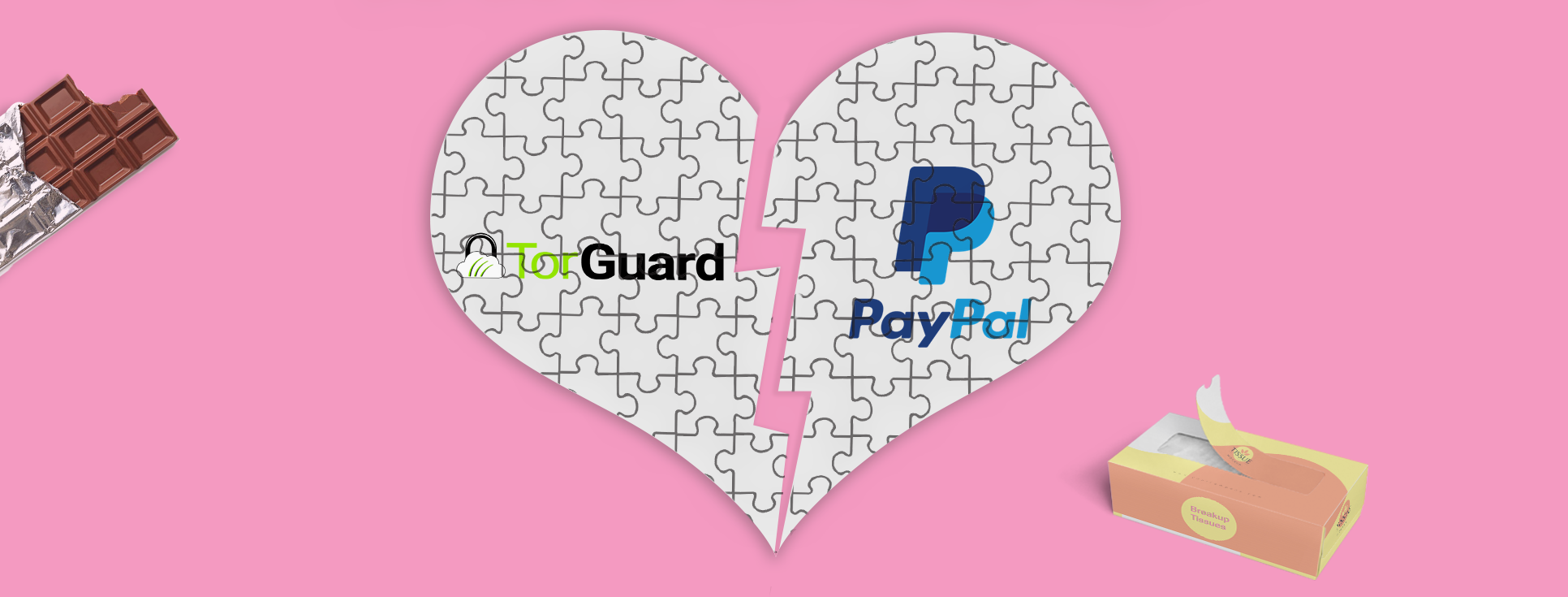 PayPal is Parting Ways with TorGuard, Again.