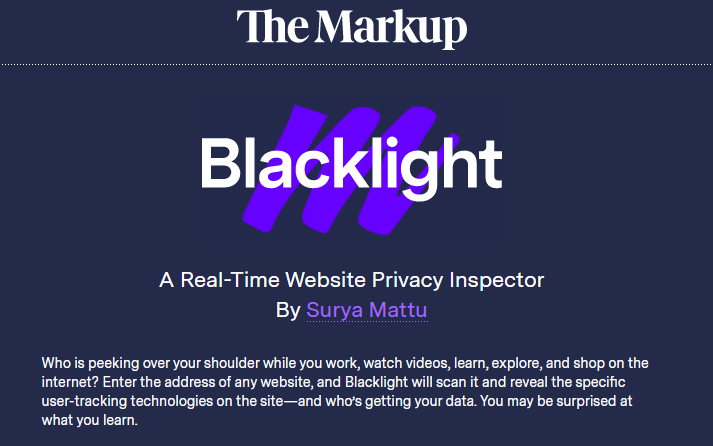 Does Your VPN Pass the Blacklight test?
