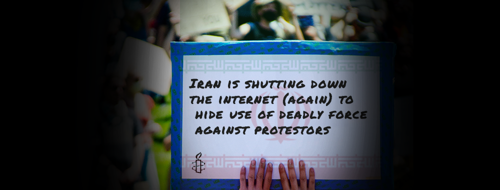 Iran is shutting down the internet (again) to hide use of deadly force