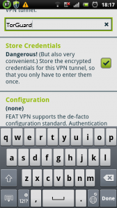 Android OpenVPN Setup