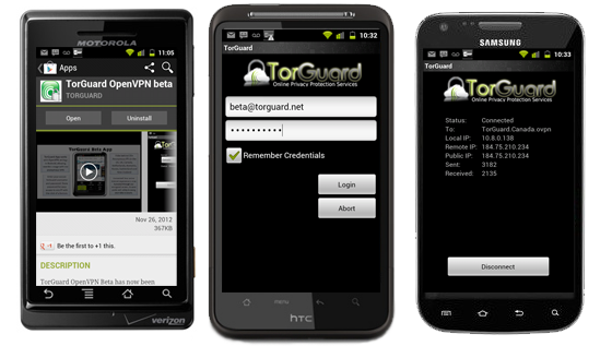Android VPN Service with TorGuard – The Best Android VPN |