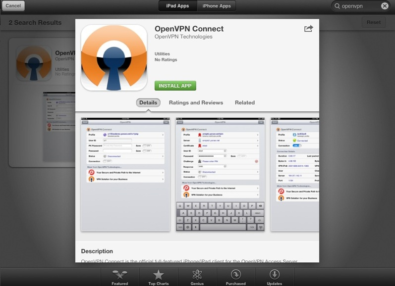 How to setup iOS OpenVPN Connect app with TorGuard - Knowledgebase