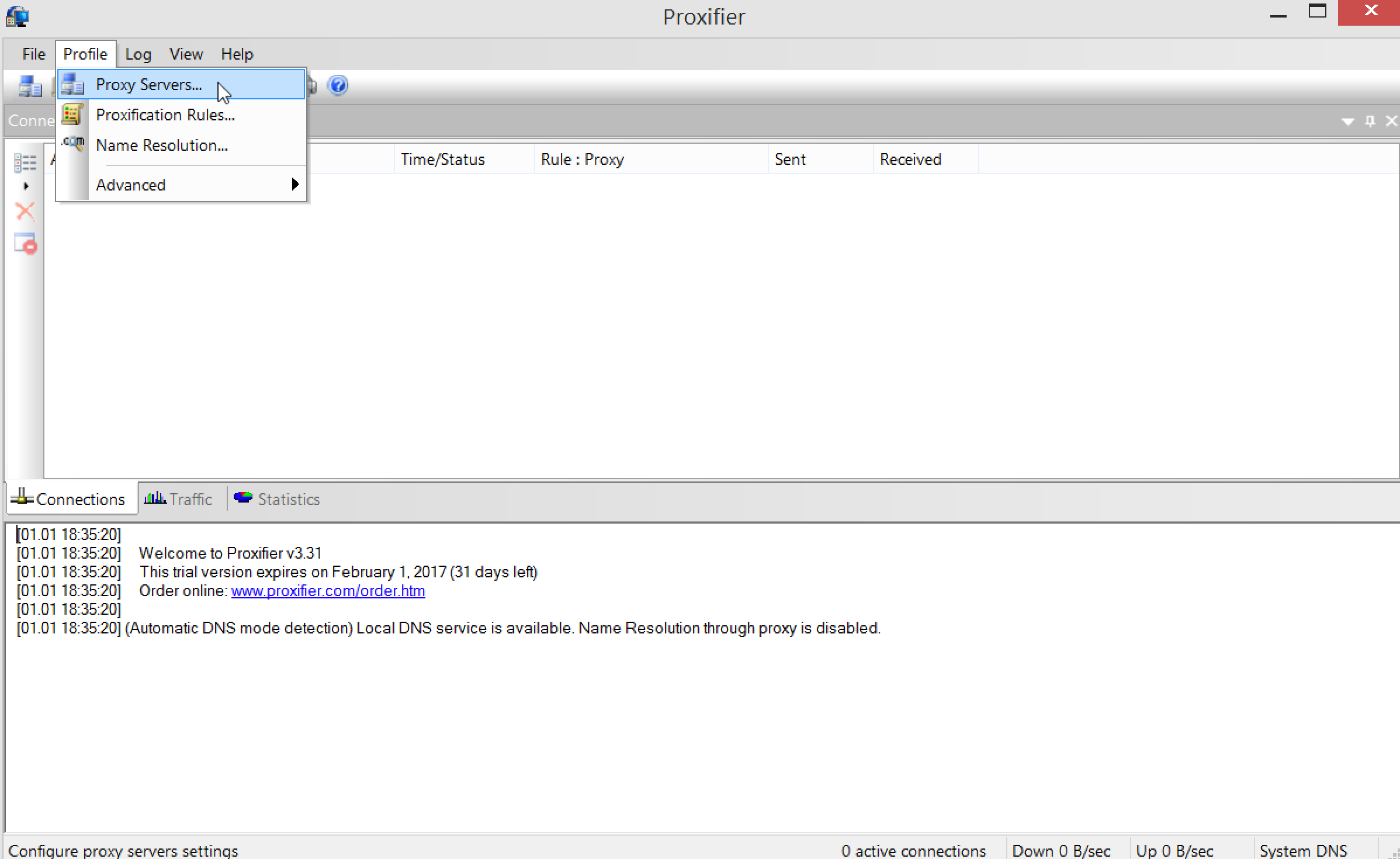 How to setup Proxifier with the TorGuard Proxy Service