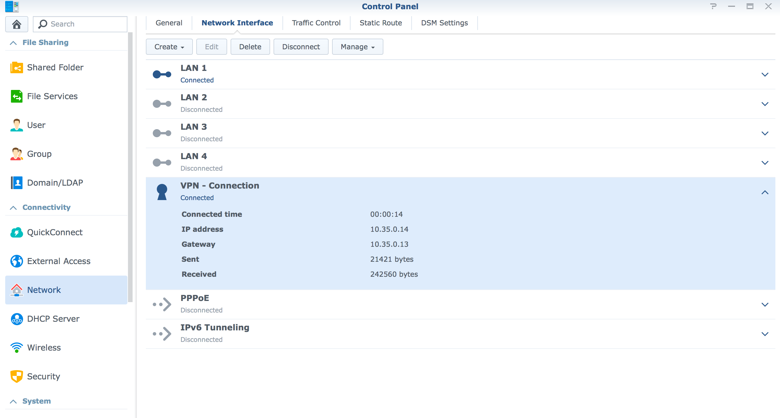 How to setup OpenVPN on the Synology NAS (Newer builds) DSM