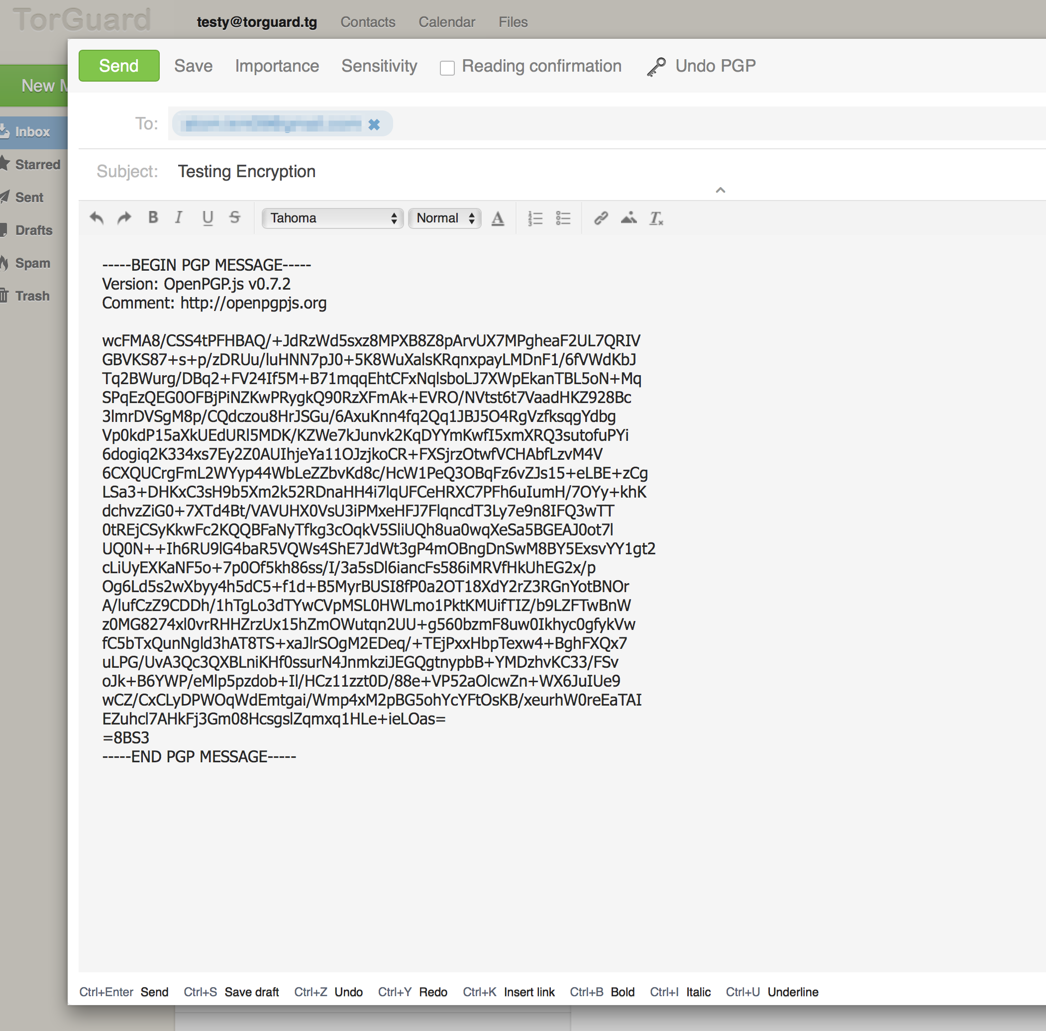 Encrypted Email: How to send encrypted Email - Knowledgebase
