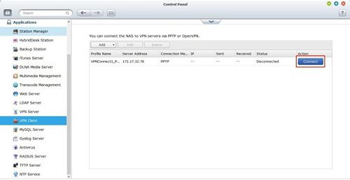How to setup PPTP on the QNAP NAS - Knowledgebase - TorGuard