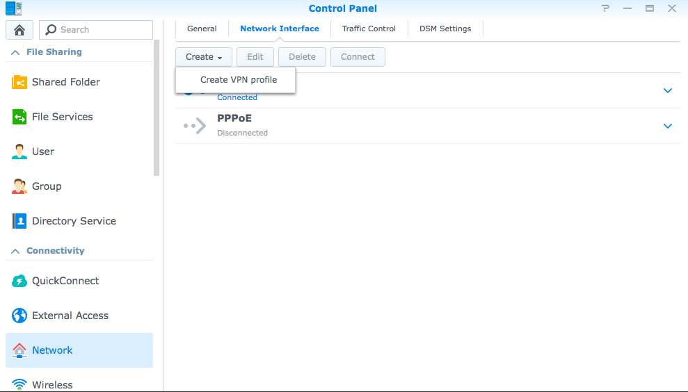 How to setup PPTP on the Synology NAS - Knowledgebase - TorGuard