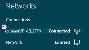Windows8 L2TP/IPSec VPN Setup: Step 12
