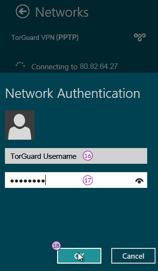 how to connect torguard openconnect