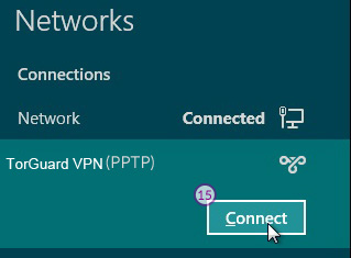 Windows8 PPT VPN Setup: Step 9